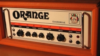 Orange Overdrive - vintage