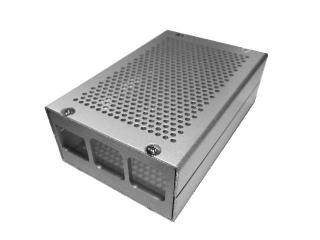Raspberry MetalJacket Case 3