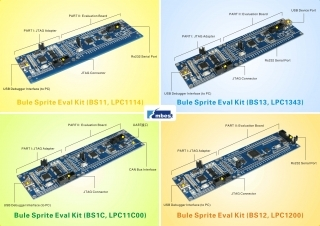 EM-LPC1100LK Evaluation Kit