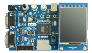 ATMEL SAM3U ARM Cortex-M3 Evaluation board