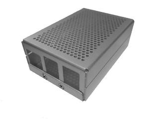 Raspberry MetalJacket Case 4